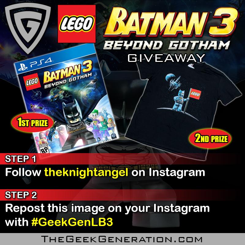 LEGO Batman 3 giveaway