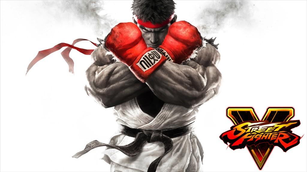 Street Fighter 5 - keyart