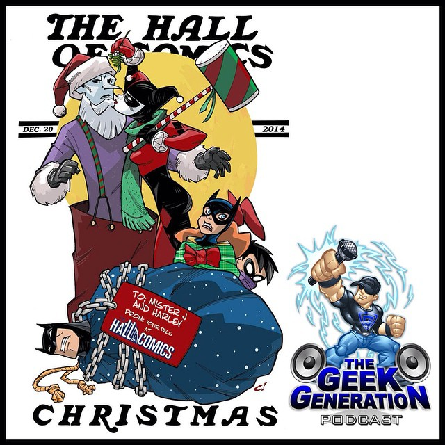 Tomorrow, I have the privilege of interviewing comic artist Craig Rousseau at The Hall of Comics in Southboro, MA. The show starts at 4:00PM following the signing. Don't miss it!! #GeekGen #podcast #Batman #xmas #CraigRousseau #comics