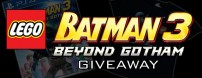 Win a copy of LEGO Batman 3: Beyond Gotham for PlayStation 4 or a Con-exclusive t-shirt.