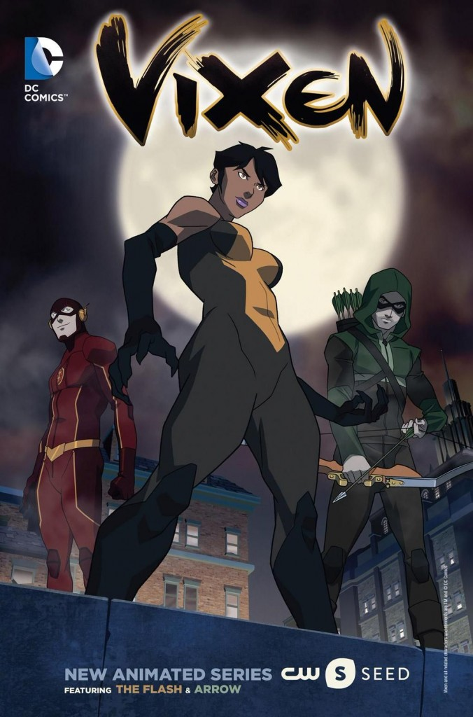 Vixen - animated series promo