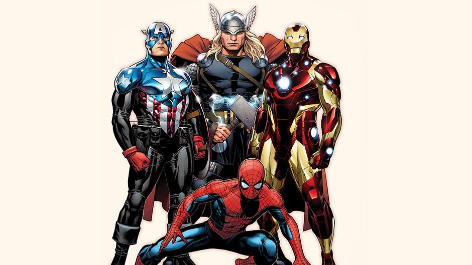 Cap Spider Thor Iron
