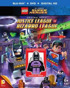 LEGO Justice League vs Bizarro League - cover