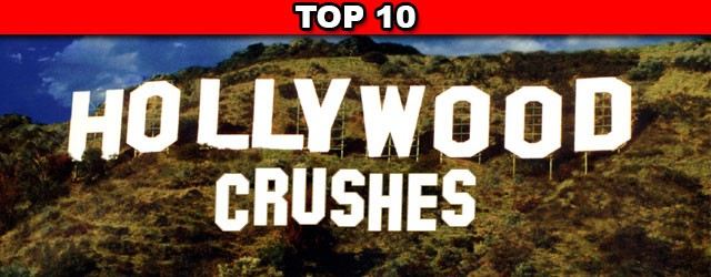 Check out Rob's Top 10 list of Hollywood crushes for 2014.