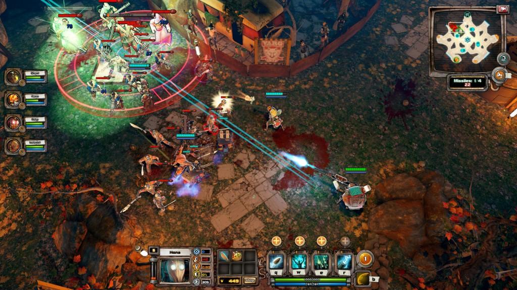BloodsportsTV - gameplay screen 1