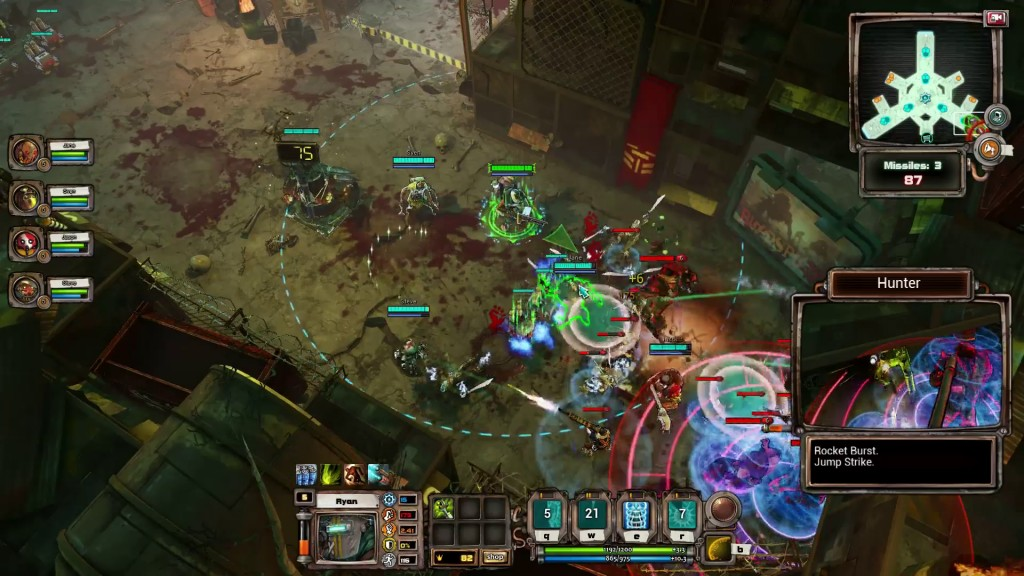 BloodsportsTV - gameplay screen 2