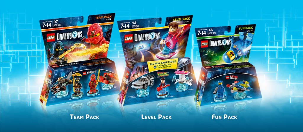 LEGO Dimensions - expansion packs
