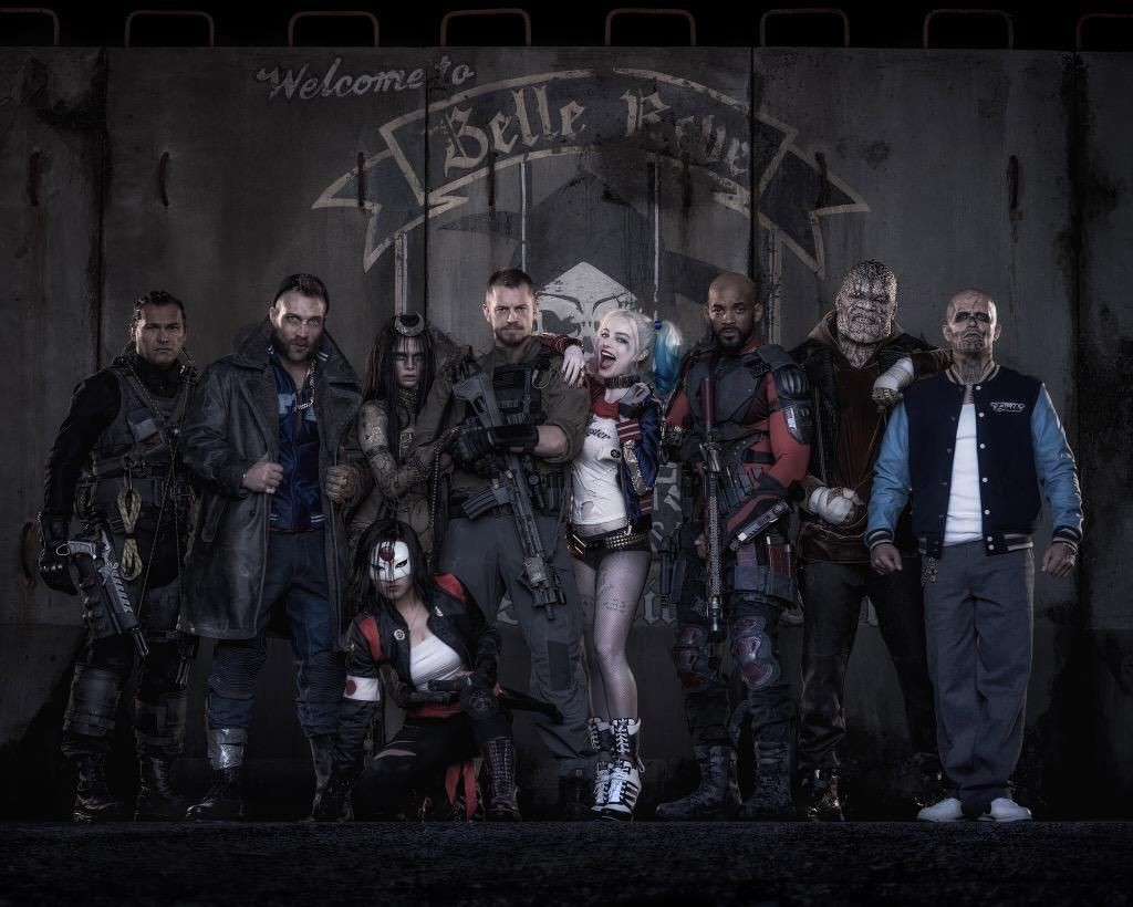Suicide Squad - first look