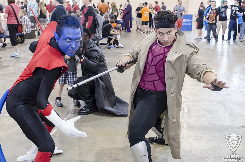 WWP 2015 - Nightcrawler and Gambit