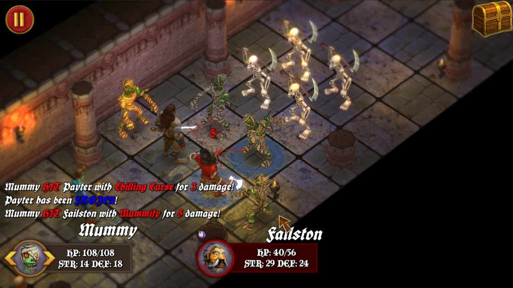 Dungeon Crawler Screen 1