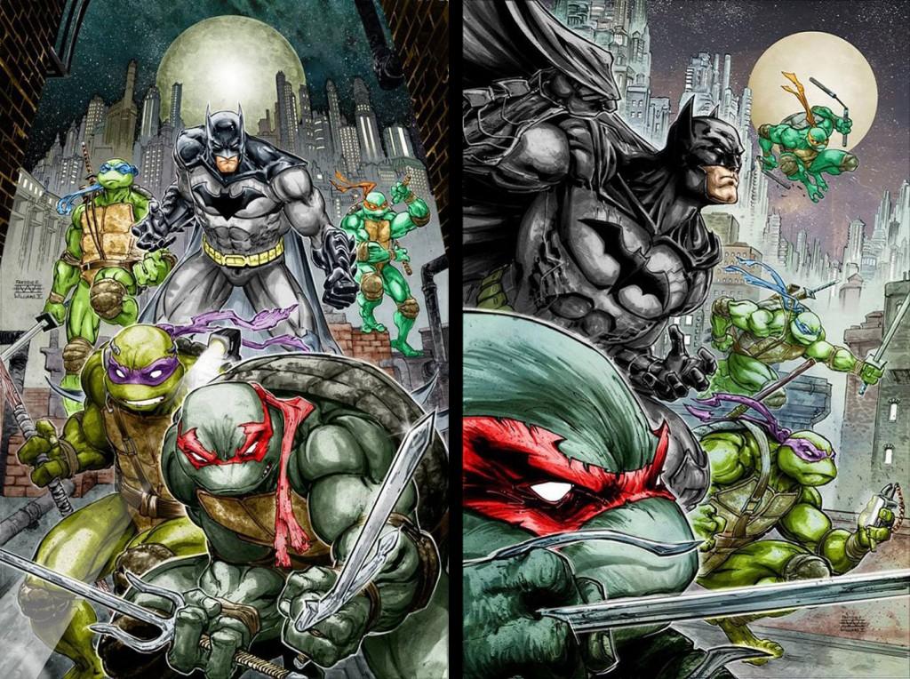 Batman TMNT crossover