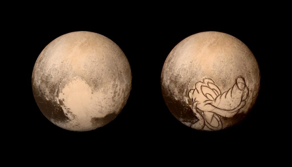 Pluto flyby meme