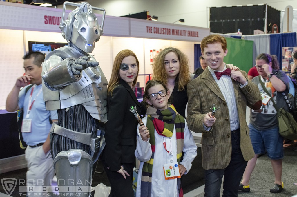 SDCC 2015 - Doctor Who crew