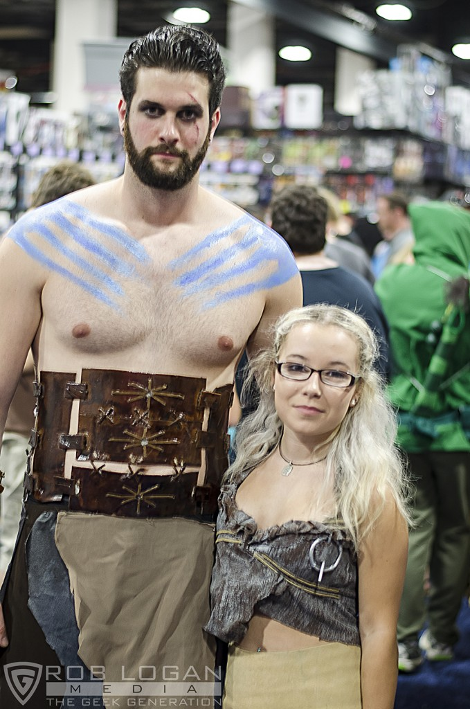 BCC 2015 - Khal Drogo and Khaleesi