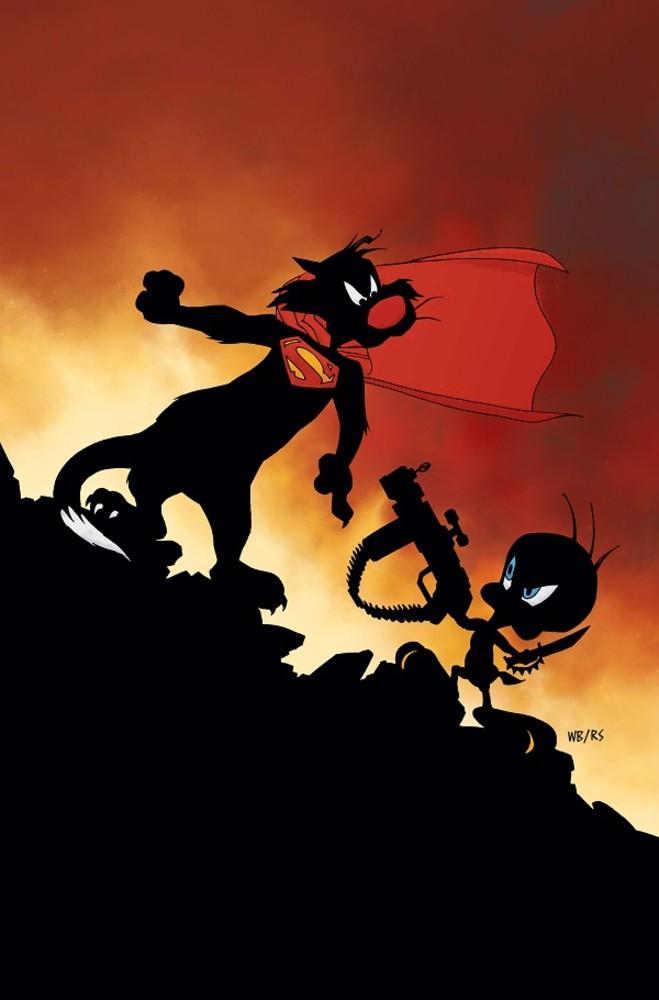 DC Looney Tunes variant - Batman Superman