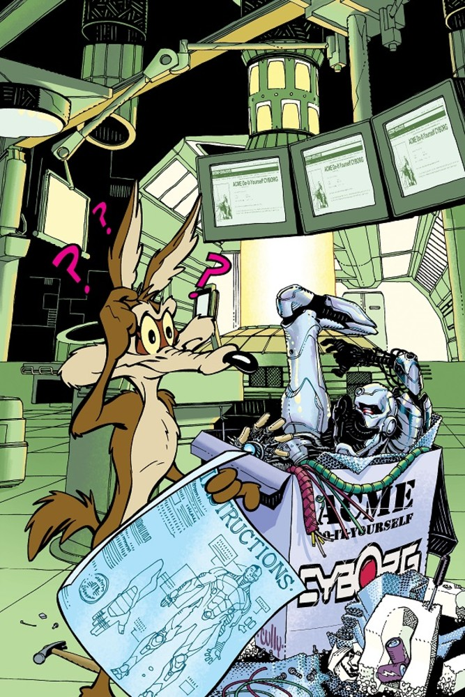 DC Looney Tunes variant - Cyborg
