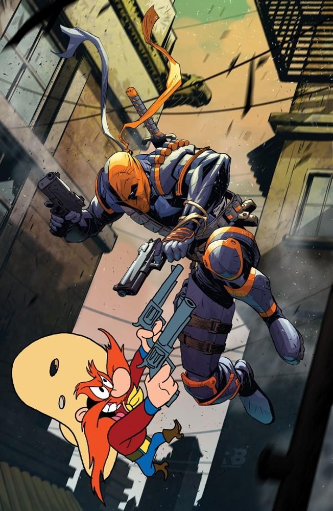 DC Looney Tunes variant - Deathstroke