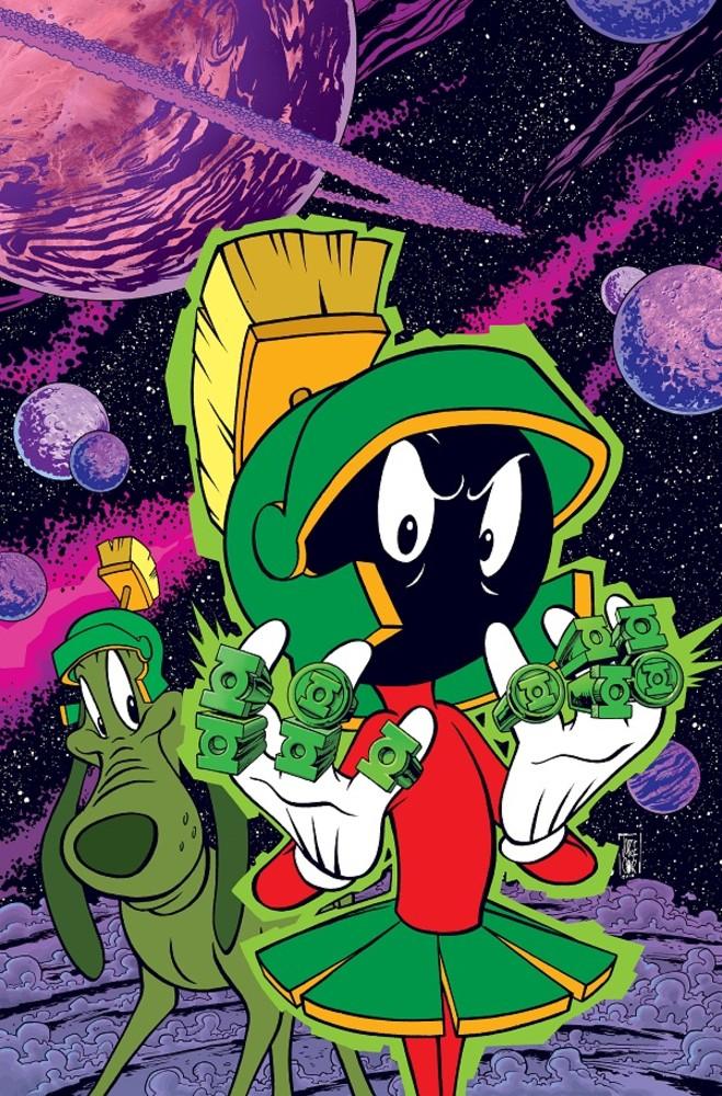 DC Looney Tunes variant - Green Lantern