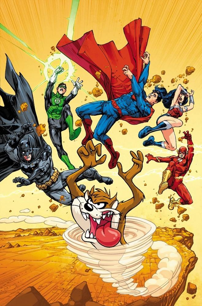 DC Looney Tunes variant - JLA