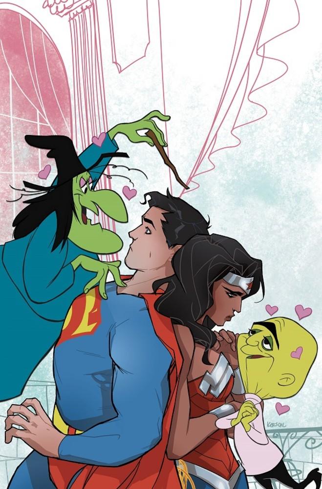DC Looney Tunes variant - Superman Wonder Woman