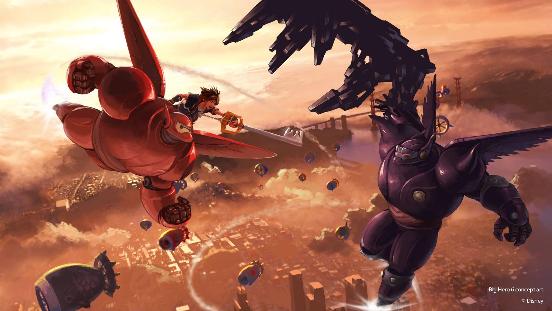 Kingdom Hearts 3 - Big Hero 6 promo