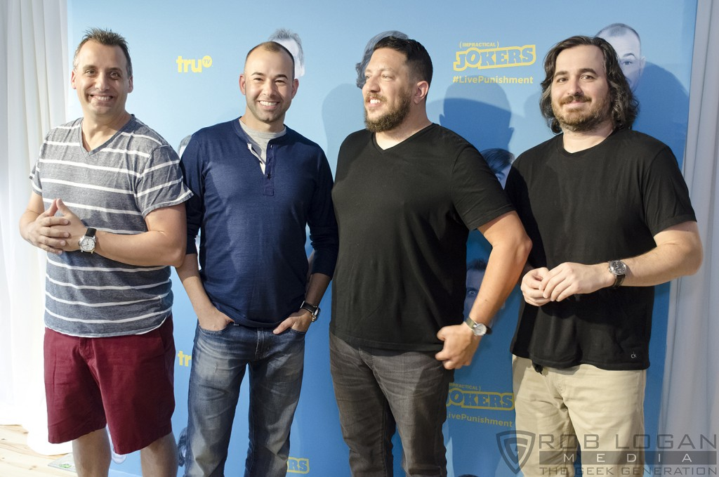 Impractical Jokers - Live Punishment Special - Jokers on backdrop