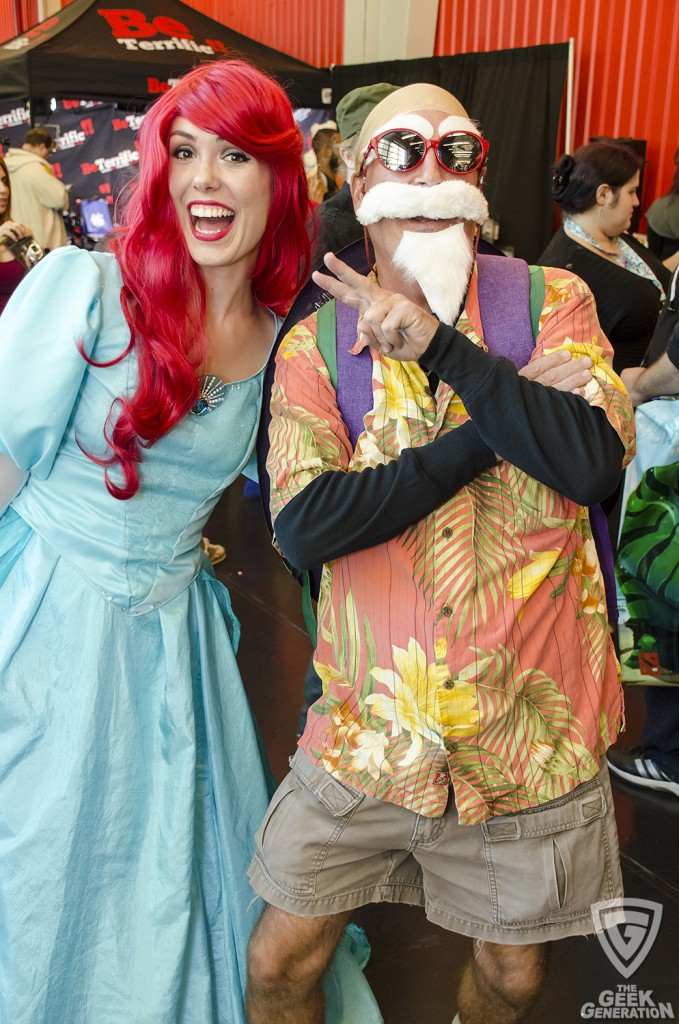 NYCC 2015 - Ariel and Roshi