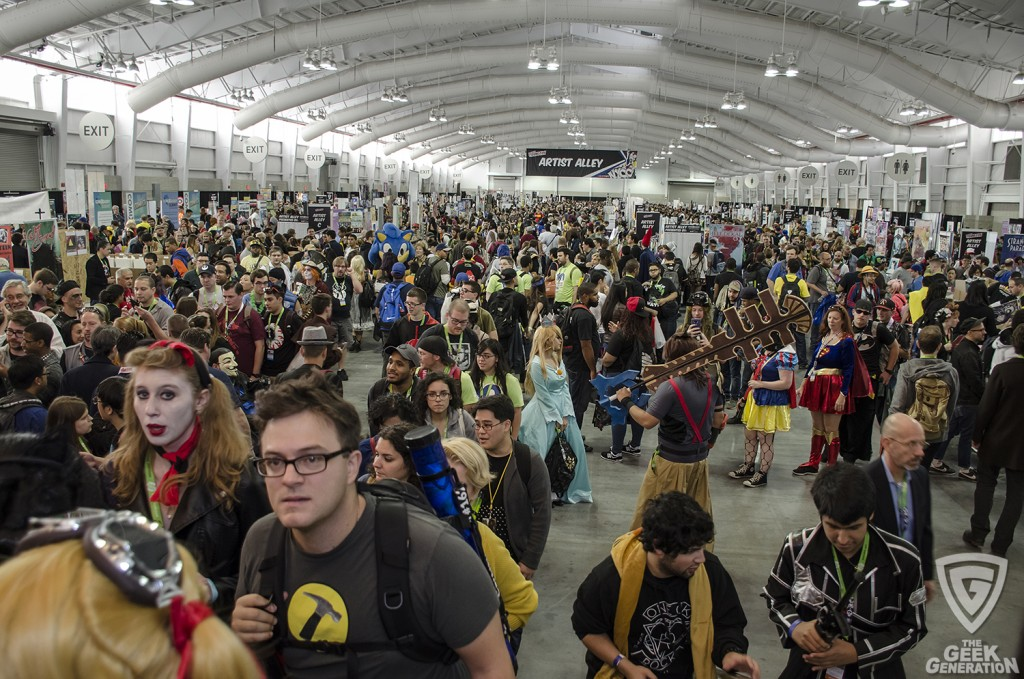 NYCC 2015 - Artist Alley