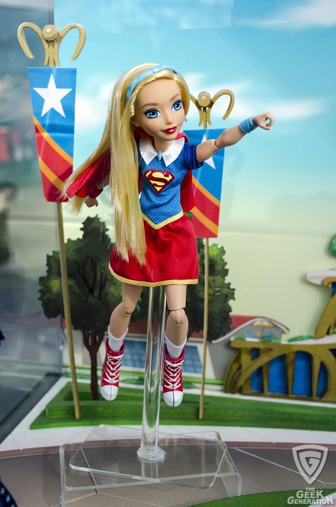 NYCC 2015 - DC SuperHero Girls - Supegirl doll
