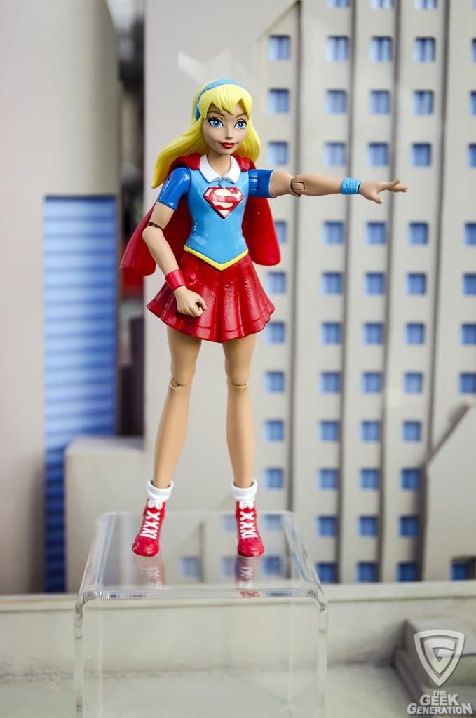 NYCC 2015 - DC SuperHero Girls - Supergirl figure