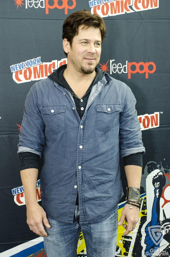 NYCC 2015 - The Librarians - Christian Kane