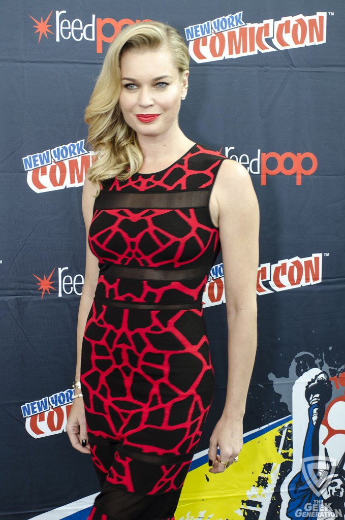 NYCC 2015 - The Librarians - Rebecca Romijn
