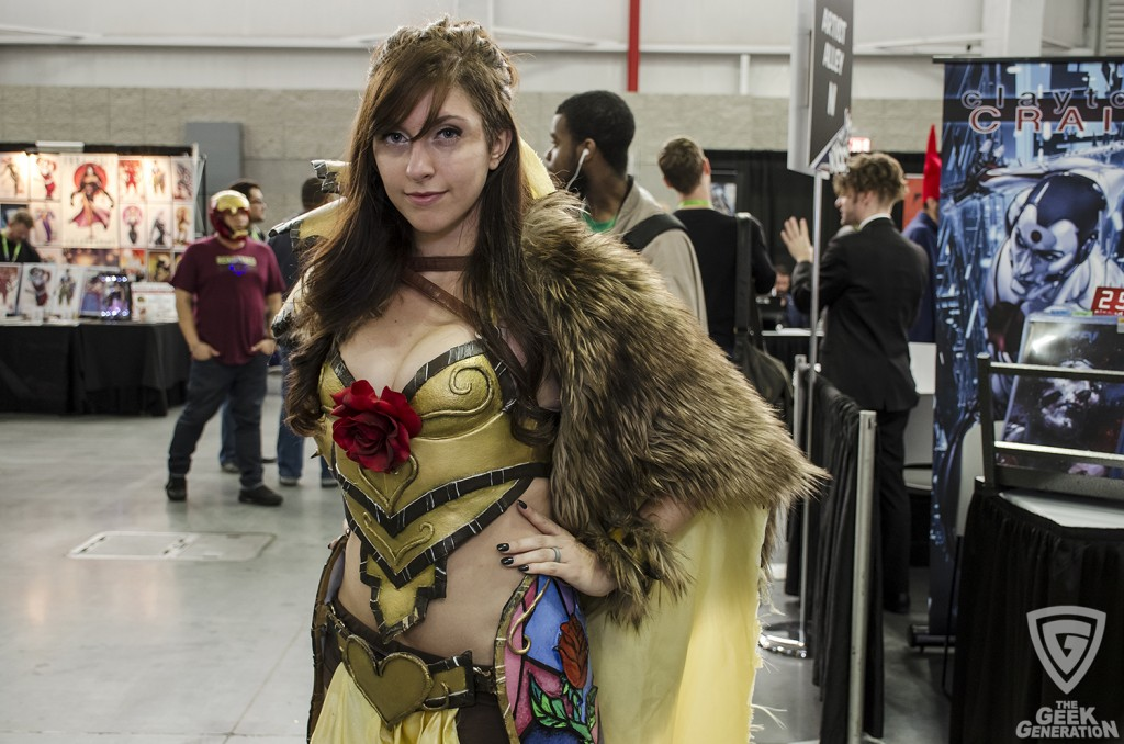 NYCC 2015 - armored Belle 2