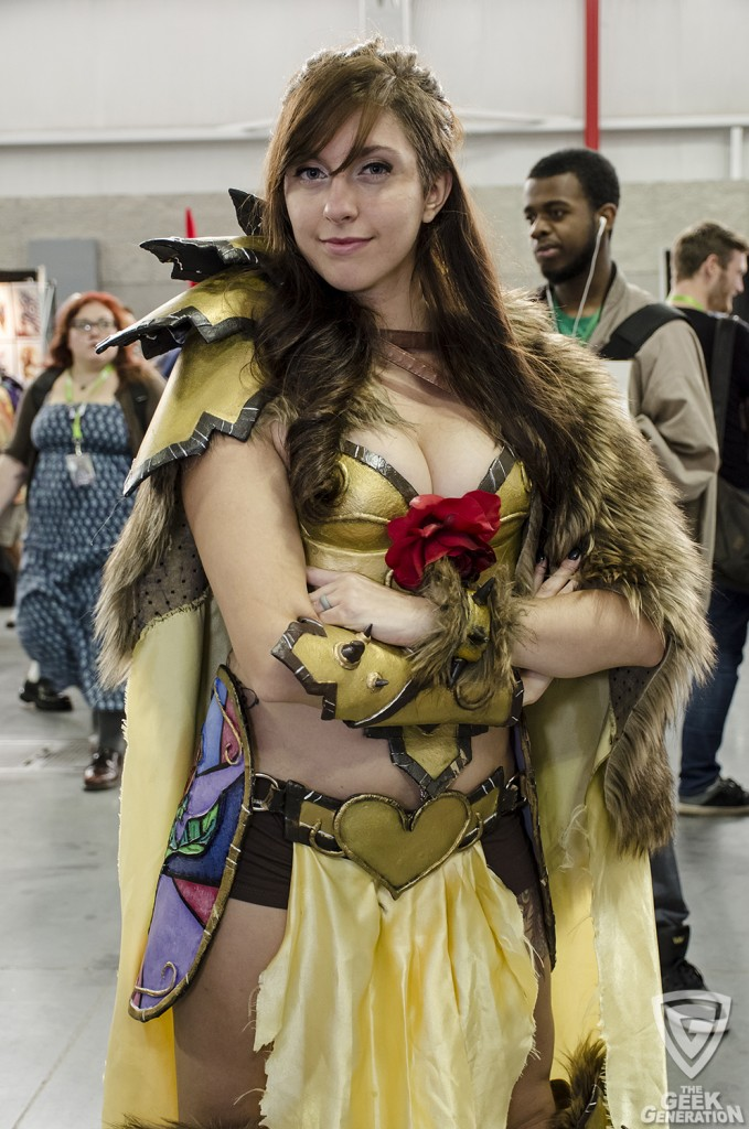 NYCC 2015 - armored Belle