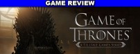 If you love the Game of Thrones television show, then Game of Thrones: A Telltale Games Series is the chapter you're missing.