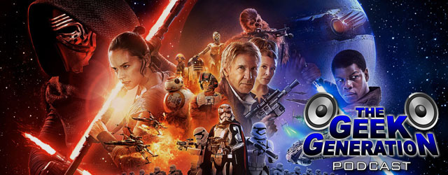 Rob, Paul, and Matt step into The Spoiler Room for a full episode discussion about Star Wars: The Force Awakens.