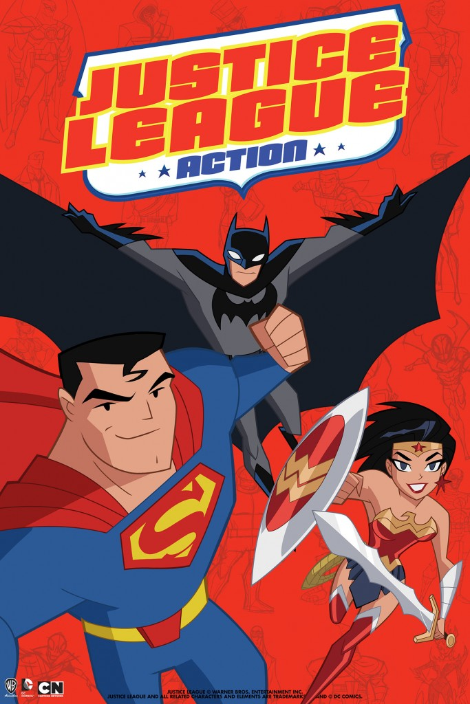 Justice League Action - poster