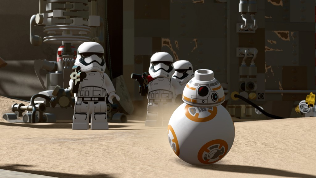 LEGO Star Wars The Force Awakens - announce screen 1