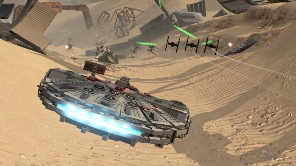 LEGO Star Wars The Force Awakens - announce screen 3