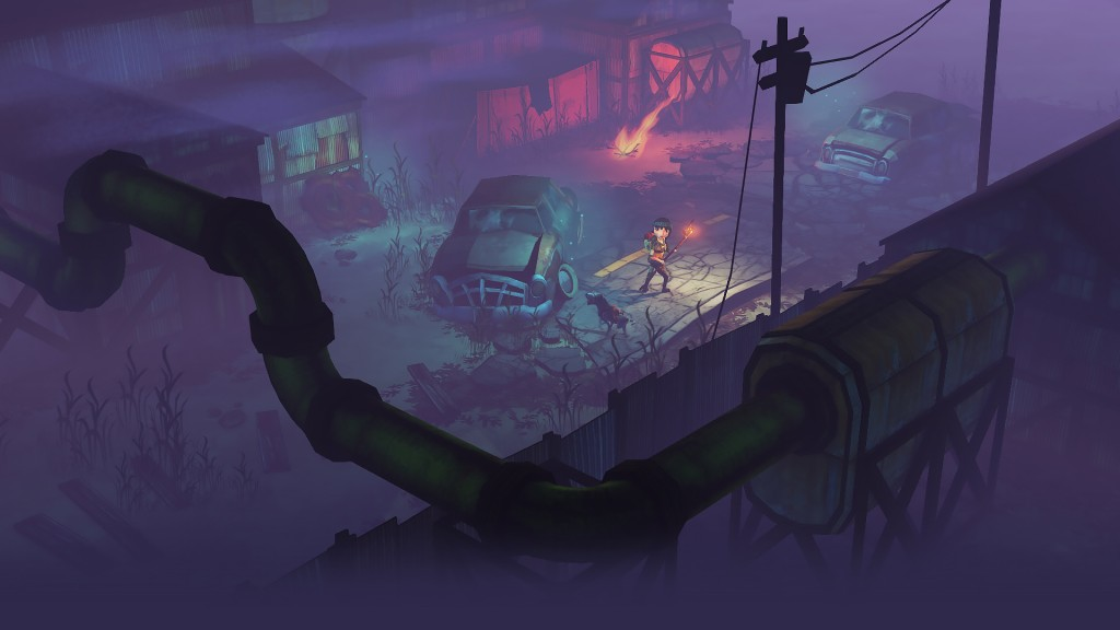 The Flame in the Flood - car park