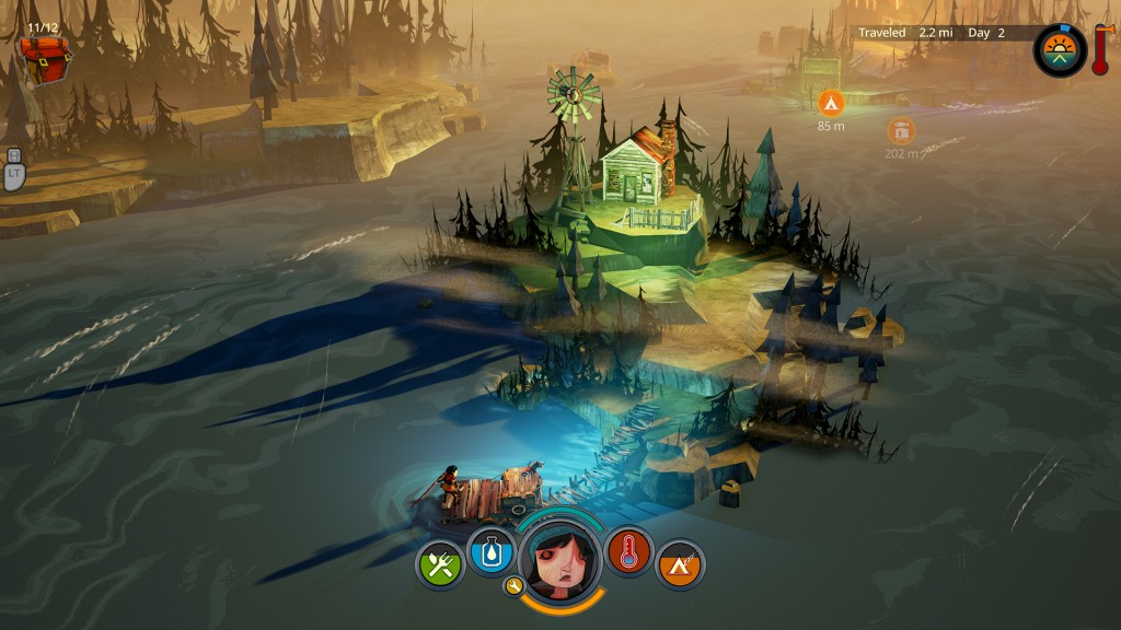 The Flame in the Flood - farm dock