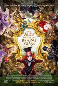 Alice Through the Looking Glass - movie poster