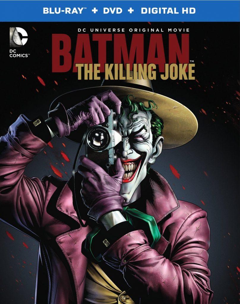Batman The Killing Joke - bluray cover