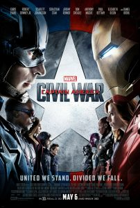 Captain America Civil War - movie poster