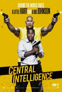 Central Intelligence - movie poster