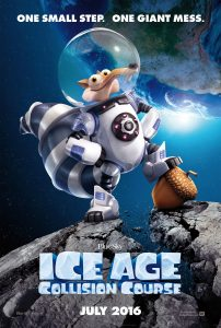Ice Age Collision Course - movie poster