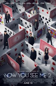 Now You See Me 2 - movie poster