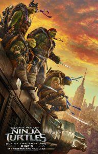 Teenage Mutant Ninja Turtles Out of the Shadows - movie poster