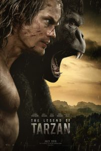 The Legend of Tarzan - movie poster