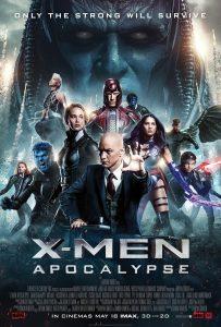Xmen Apocalypse - movie poster